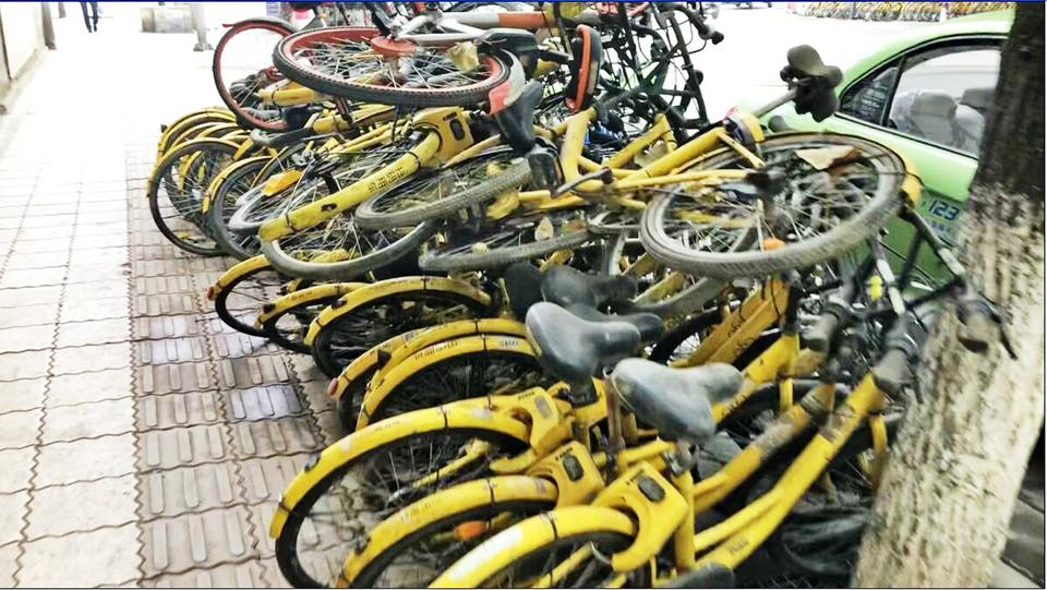"""江德斌:共享单车""""坟场""""乃是正常的市场竞争结果"""